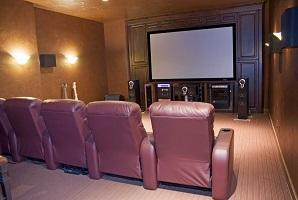 Home theater design Portland